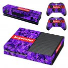 Supreme Xbox One Skin Sticker Decals For Console And Controller