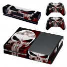 The Punisher Xbox One Skin Sticker Decals For Console And Controller