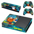 Dragonball Goku Xbox One Skin Sticker Decals For Console And Controller