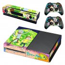 Rick And Morty Xbox One Skin Sticker Decals For Console And Controller
