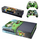 Minecraft Xbox One Skin Sticker Decals For Console And Controller