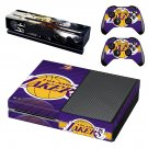 LA Lakers Xbox One Skin Sticker Decals For Console And Controller