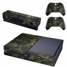 Camouflage Xbox One Skin Sticker Decals For Console And Controller