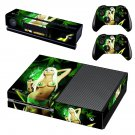 Weed Sexy Girl Xbox One Skin Sticker Decals For Console And Controller