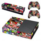 Graffiti Bomb Xbox One Skin Sticker Decals For Console And Controller