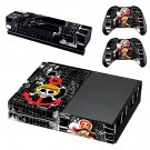 One Piece Xbox One Skin Sticker Decals For Console And Controller