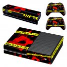 Crime Scene Xbox One Skin Sticker Decals For Console And Controller