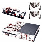 Blood Stains Xbox One Skin Sticker Decals For Console And Controller