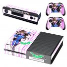Overwatch DVA Xbox One Skin Sticker Decals For Console And Controller