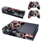 Resident Evil Xbox One Skin Sticker Decals For Console And Controller