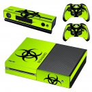 Biohazard Xbox One Skin Sticker Decals For Console And Controller