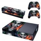 The Joker Xbox One Skin Sticker Decals For Console And Controller