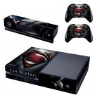Superman Xbox One Skin Sticker Decals For Console And Controller
