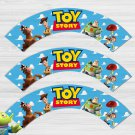 Toy Story Disney Cupcake Wrappers Printable Digital Instant Download