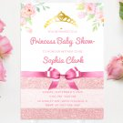 Baby Shower Princess Design 1 Invitation Printable Personalized Digital