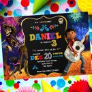 Personalized Coco Disney Invitation Printable Digital Custom