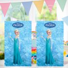 Frozen Elsa Favor Loot Paper Bag Template Printable Digital Instant Download