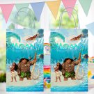 Moana and Maui Favor Loot Paper Bag Template Printable Digital