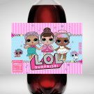 LOL Surprise 2 Liter Soda Bottle Label Instant Download Digital Printable wrapper labels liters