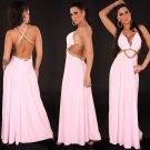 Sexy maxi goddess-dress-baby pink-000003379