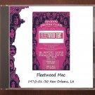 Fleetwood Mac Live 1970 New Orleans Louisiana Warehouse SBD CD