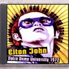 Elton John Live 1972 Indiana Notre Dame University SBD CD