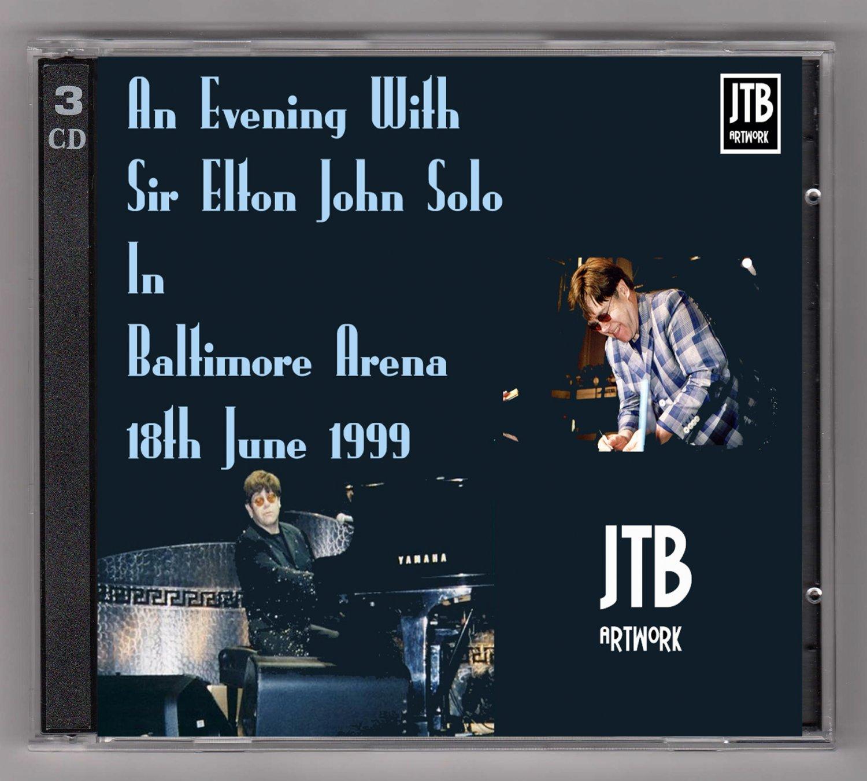 Elton John Live 1999 Maryland Baltimore Arena 3-CD