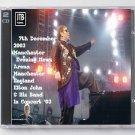 Elton John Live 2003 Manchester UK Evening New Arena 2-CD
