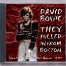 David Bowie Live 1974 Boston Music Hall CD