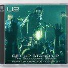 U2 Live 2001 Ft. Lauderdale Florida National Car Rental Center SBD 2-CD