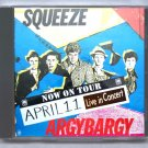Squeeze Live 1980 Canada Toronto Music Hall FM CD
