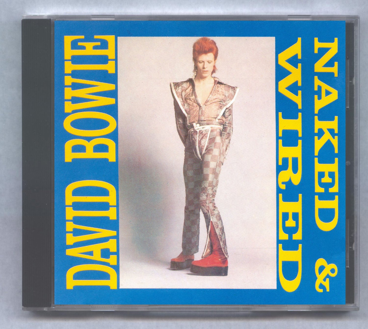 David Bowie Naked and Wired Various Outtakes Demos CD