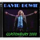 David Bowie Live 2000 UK Glastonbury Festival Worthy Farm Somerset FM 2-CD