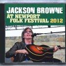 Jackson Browne Live 2012 Rhode Island Newport Folk Festival FM CD