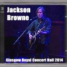 Jackson Browne Live 2014 Scotland Glasgow Royal Concert Hall 3-CD