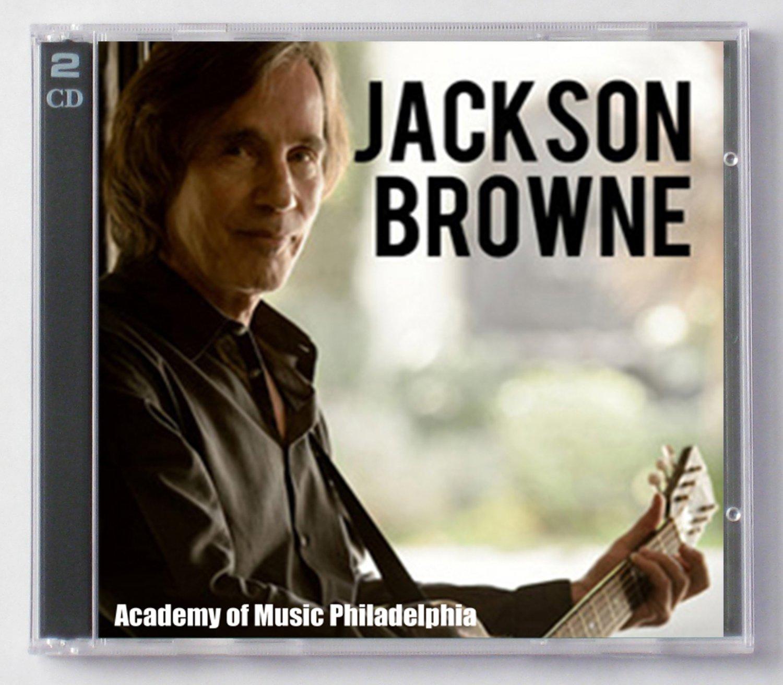 Jackson Browne Live 2014 Pennsylvania Academy of Music 2-CD