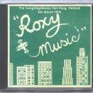 Roxy Music Live 1979 Holland Congresgebouw Den Haag FM CD