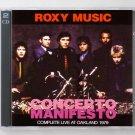 Roxy Music Live 1979 Oakland Auditorium Arena SBD 2-CD