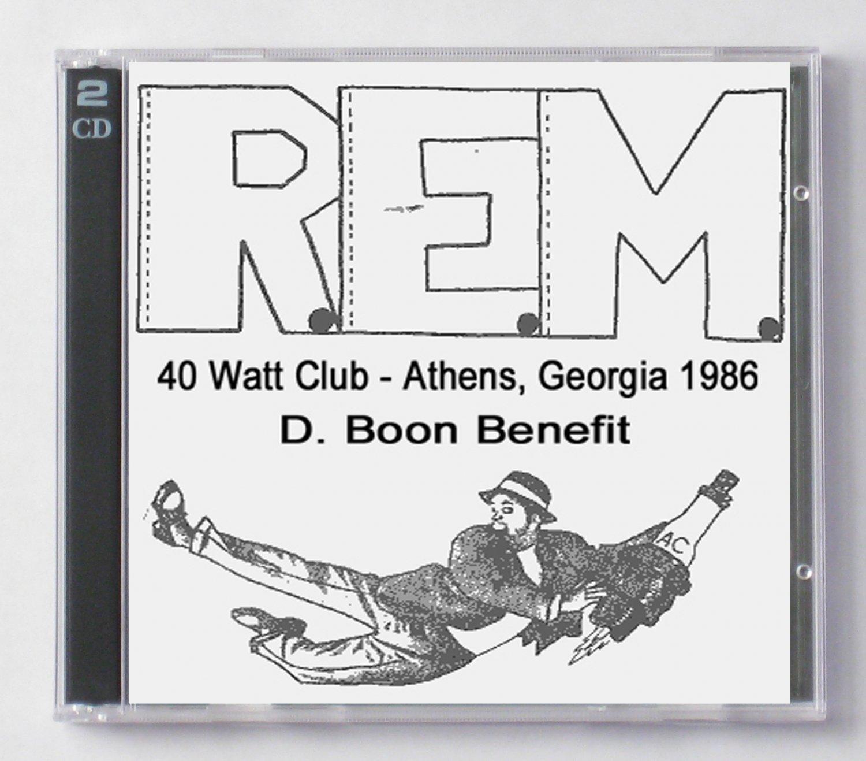 R.E.M. Live 1986 Athens 40 Watts Club Georgia SBD 2-CD