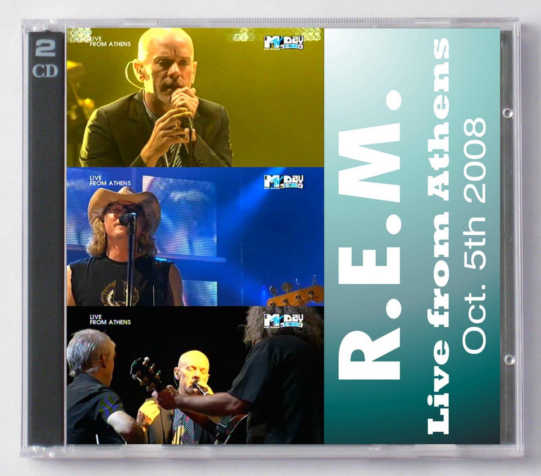 R.E.M. Live 2008 Greece Athens SBD 2-CD