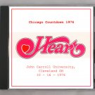 Heart Live 1976 Cleveland Ohio John Carroll University SBD CD