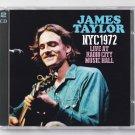 James Taylor Live 1972 New York Radio City Music Hall 2-CD