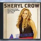 Sheryl Crow Live 2016 Nashville Ascend Amphitheater Tennessee CD