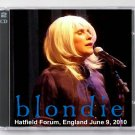 Blondie Live 2010 Hatfield Forum England 2-CD