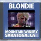 Blondie Live 2012 Saratoga Mountain Winery California CD