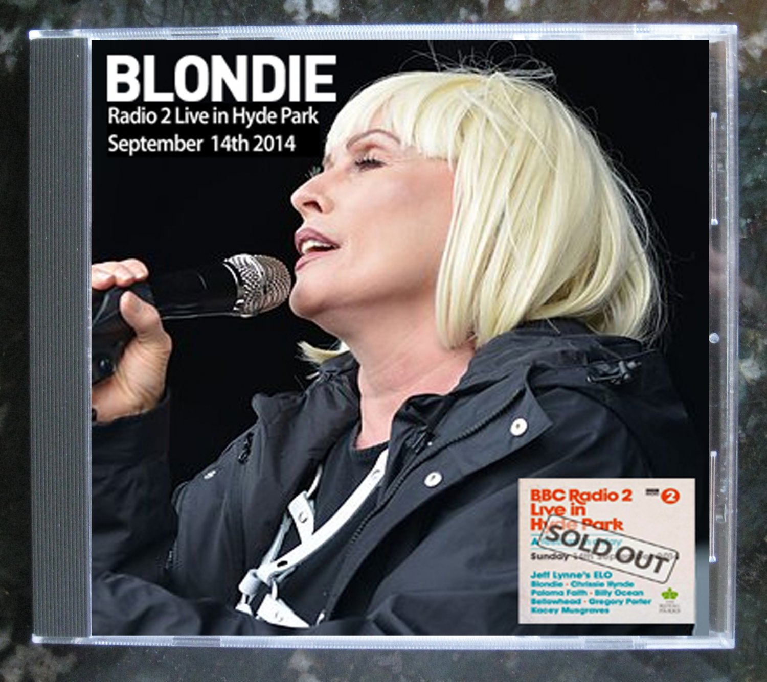 Blondie Live 2014 London Hyde Park FM Radio 2 Festival In A Day CD