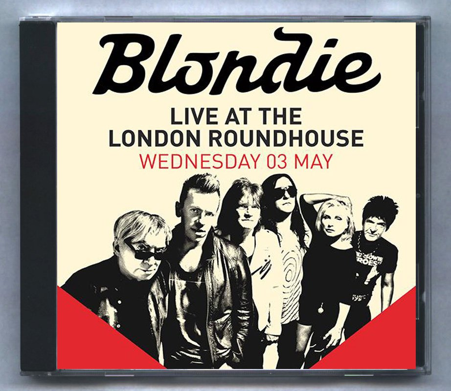Blondie Live 2017 London Roundhouse UK FM Broadcast CD