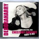Blondie Debbie Harry Live 1989 Philadelphia Chestnut Cabaret CD