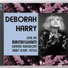 Blondie Debbie Harry Live 1990 Birmingham Aston Villa Leisure Centre 2-CD