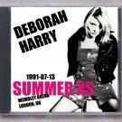 Blondie Debbie Harry Live 1991 Wembley Stadium UK SBD CD